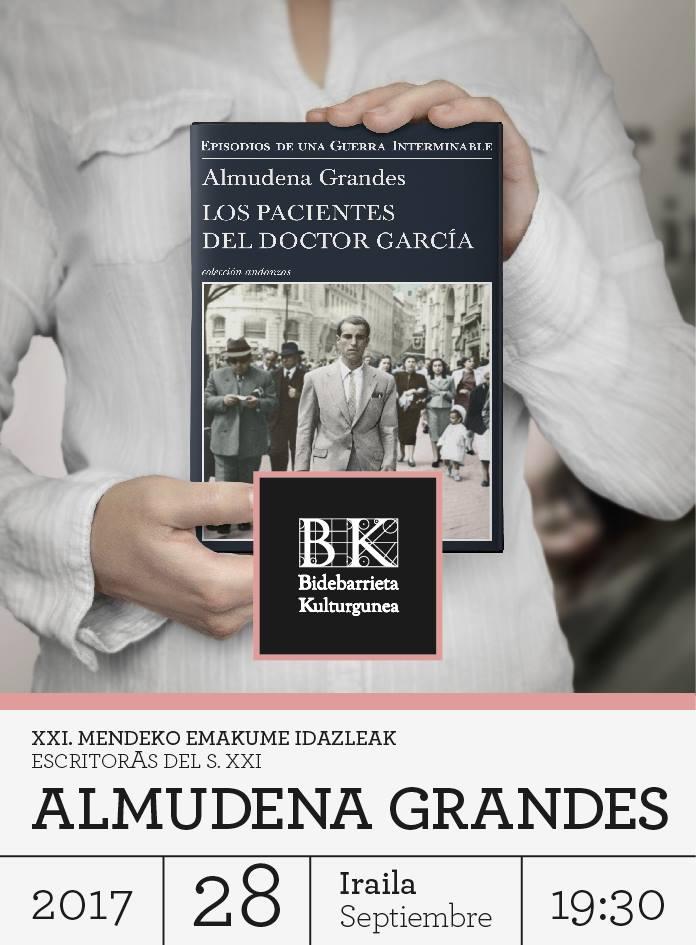 Bilbao.eus, InfoBilbao, Noticias, ALMUDENA GRANDES REANUDARÁ ESTE ...