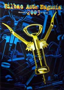 Cartel de Fiestas y programa festivo del  año 2003