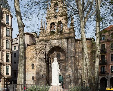 Iglesia San Vicente Mártir De Abando Bilbao Turismo