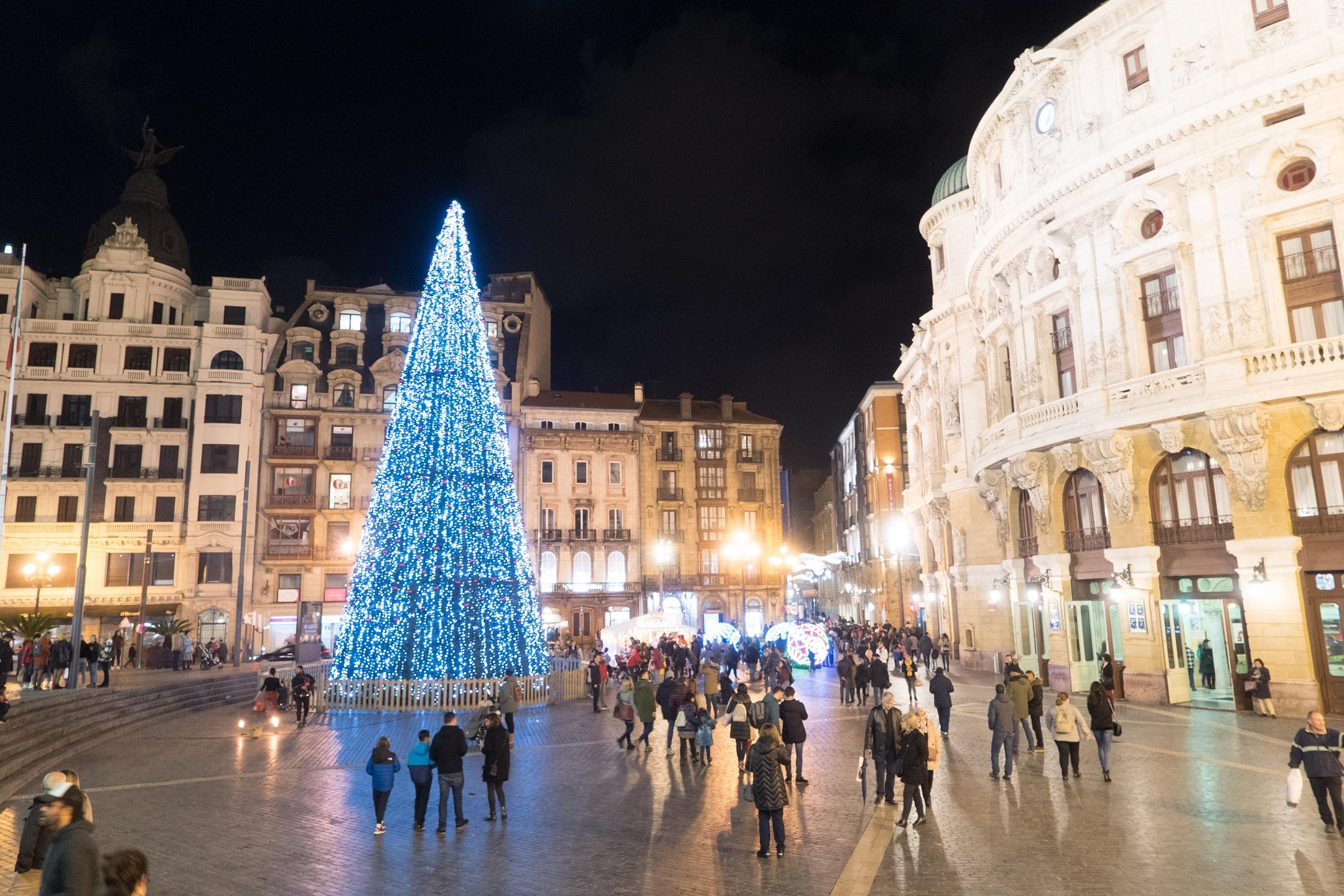Bilbao Eus áreas Municipales Durante El Periodo Navideño