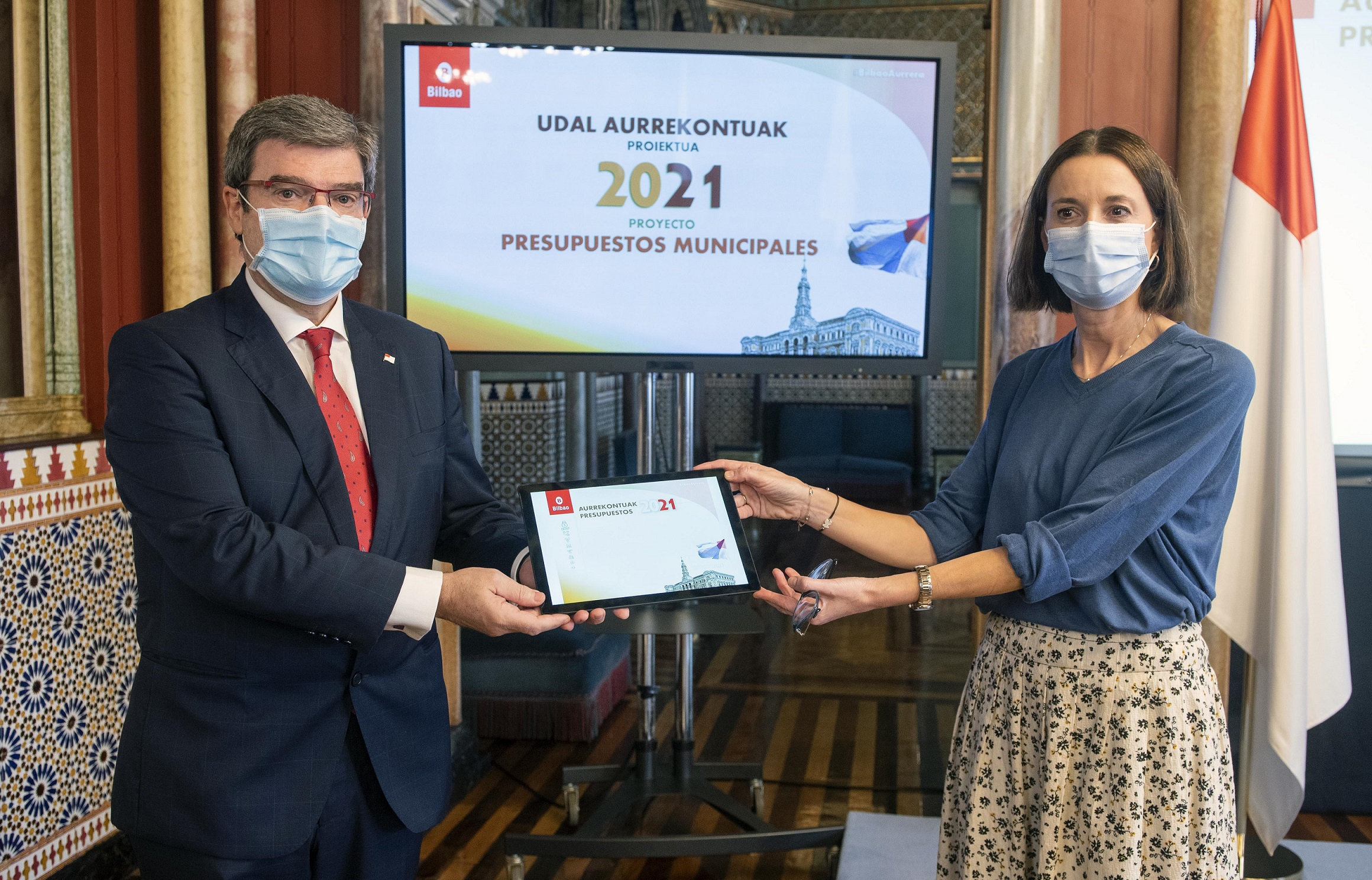 Bilbao aprueba el Proyecto unos Presupuestos para el próximo año muy centrados en la pandemia,
