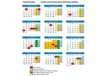 Calendario Deusto.Bilbao Eus Servicio Ota Caracteristicas Horarios